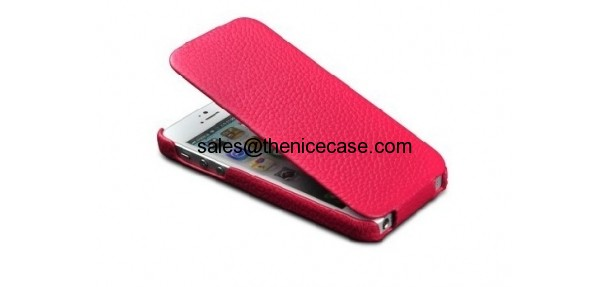 Flip leather case for cheap iPhone 4/4s