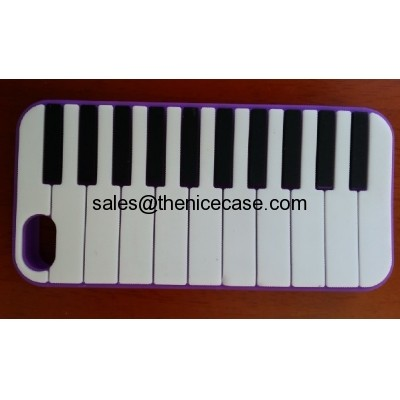 Silicone Piano Silicone Cell Phone Cases