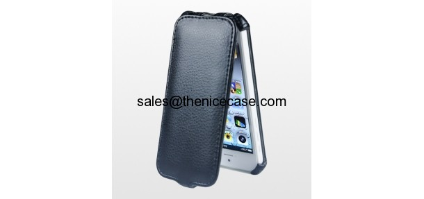 Flip leather case for cheap iPhone 5C
