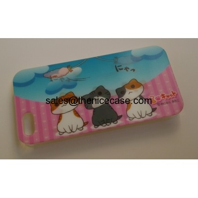 3D cute cat iphone 5 cases IMD Tech. factory Offer